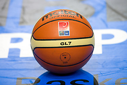 Official ball of the Eurobasket 2009, on September 06, 2009 in Warsaw, Poland. (Photo by Vid Ponikvar / Sportida)