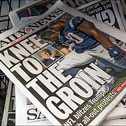 """Daily News Headlines -""""Kee to the Groin"""" NFL blitzes Trump with all-out protests"""