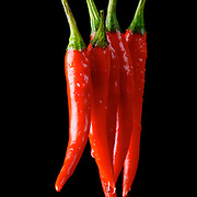 Hot bright red chilli pepper