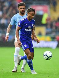 Caption correction* Bobby Reid of Cardiff City - Mandatory by-line: Alex James/JMP - 22/09/2018 -  FOOTBALL - Cardiff City Stadium - Cardiff, Wales -  Cardiff City v Manchester City - Premier League