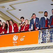 NLD/Scheveningen/20160713 - Perspresentatie sporters voor de Olympische Spelen 2016 in Rio de Janeiro,