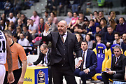 Aleksander Djordievic<br /> FIAT Torino - Segafredo Virtus Bologna<br /> Lega Basket Serie A 2018-2019<br /> Torino 17/03/2019<br /> Foto M.Matta/Ciamillo & Castoria