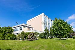 """17.05.2019, Atominstitut, Wien, AUT, Atominstitut wird zur """"EPS Historic Site"""" erhoben, im Bild //  The Atominstitut in Vienna will be an EPS Historic Site, Austria on 2019/05/17. EXPA Pictures © 2019, PhotoCredit: EXPA/ Sebastian Pucher"""