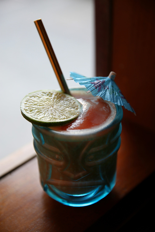 The Quimbara drink at The Beehive, Saturday, May 5, 2018, in San Francisco, Calif. The Beehive is located at 842 Valencia Street.