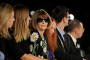 Anna Wintour attends the Proenza Schouler Spring 2016 show during Fashion Week, Wednesday, Sept. 16, 2015, in New York.  (AP Photo/Diane Bondareff)