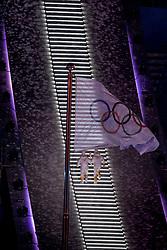 PYEONGCHANG-GUN, SOUTH KOREA - FEBRUARY 09: Opening Ceremony of the PyeongChang 2018 Winter Olympic Games at PyeongChang Olympic Stadium on February 9, 2018 in Pyeongchang-gun, South Korea. Photo by Ronald Hoogendoorn / Sportida