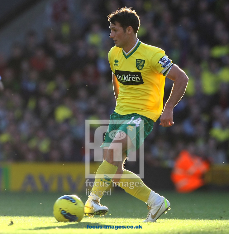 Picture by Paul Chesterton/Focus Images Ltd.  07904 640267.19/11/11.Wes Hoolahan of Norwich in action during the Barclays Premier League match at Carrow Road stadium, Norwich.