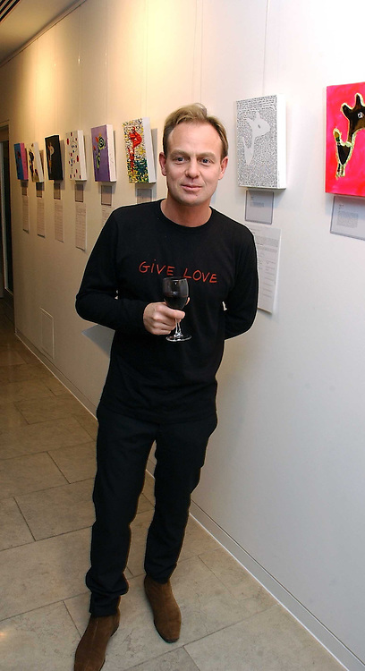 JASON DONOVAN at the Alive & Well Dog Project Auction auction in aid of the Great Ormond Street Hospital Children's Charity at The Hospital, 24 Endell Street, London WC2 on 31st January 2007.<br /><br />NON EXCLUSIVE - WORLD RIGHTS