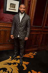 """JB GILL at a party to celebrate the publication of """"Lady In Waiting: The Wristband Diaries"""" By Lady Victoria Hervey held at The Goring Hotel, Beeston Place, London on 9th May 2016."""