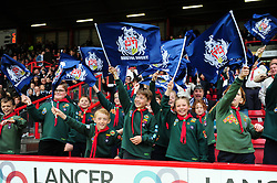 A general view of Bristol Rugby supporters soaking up the atmosphere - Mandatory byline: Patrick Khachfe/JMP - 25/05/2016 - RUGBY UNION - Ashton Gate Stadium - Bristol, England - Bristol Rugby v Doncaster Knights - Greene King IPA Championship Play Off FINAL 2nd Leg.