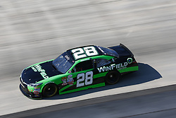 June 2, 2017 - Dover, DE, United States of America - June 02, 2017 - Dover, DE, USA: Dakoda Armstrong (28) takes to the track  to practice for the Delaware 200 at Dover International Speedway in Dover, DE. (Credit Image: © Justin R. Noe Asp Inc/ASP via ZUMA Wire)