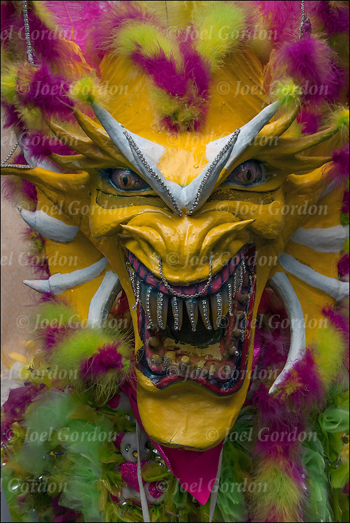 The Dominican Day Parade is a celebration of ethnic pride a fusion of culture and religion for the Dominican American community in New York City.<br />