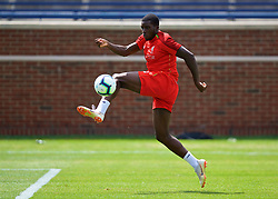 ANN ARBOR, USA - Friday, July 27, 2018: Liverpool's Sheyi Ojo during a training session ahead of the preseason International Champions Cup match between Manchester United FC and Liverpool FC at the Michigan Stadium. (Pic by David Rawcliffe/Propaganda)