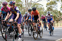 Leigh Ann Ganzar (USA) at Stage 1 of 2020 Santos Women's Tour Down Under, a 116.3 km road race from Hahndorf to Macclesfield, Australia on January 16, 2020. Photo by Sean Robinson/velofocus.com