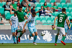 Filip Uremovic of NK Olimpija Ljubljana during football match between NK Olimpija Ljubljana and ND Gorica in Round #29 of Prva liga Telekom Slovenije 2017/18, on April 29, 2018 in SRC Stozice, Ljubljana, Slovenia. Photo by Urban Urbanc / Sportida