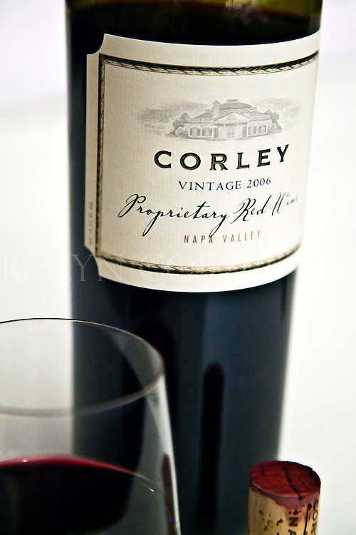 Corley Reserve Proprietary Red Wine - Monticello Vineyards. Napa Valley.