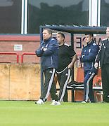 Peterhead boss Jim McInally- Dundee v Peterhead, League Cup at Dens Park<br /> <br />  - &copy; David Young - www.davidyoungphoto.co.uk - email: davidyoungphoto@gmail.com