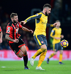 Olivier Giroud of Arsenal - Mandatory by-line: Alex James/JMP - 03/01/2017 - FOOTBALL - Vitality Stadium - Bournemouth, England - Bournemouth v Arsenal - Premier League