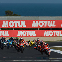 Round 16 of the MotoGP World Championship.  The Australian MotoGP held at Phillip Island between October 12 - October 15, 2007.<br /> <br /> Additional Images available on request.<br /> <br /> ::Images shown are not post processed::Contact me for the full size file and required file format (tif/jpeg/psd etc) <br /> <br /> ::For anything other than editorial usage, releases are the responsibility of the end user and documentation/proof will be required prior to file delivery.