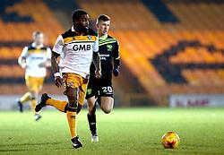 Anthony Grant of Port Vale runs with the ball - Mandatory by-line: Robbie Stephenson/JMP - 20/01/2017 - FOOTBALL - Vale Park - Stoke-on-Trent, England - Port Vale v Bury - Sky Bet League One