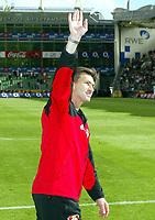 Klaus AUGENTHALER Trainer Leverkusen<br /> Bayer 04 Leverkusen - VfB Stuttgart 2:0