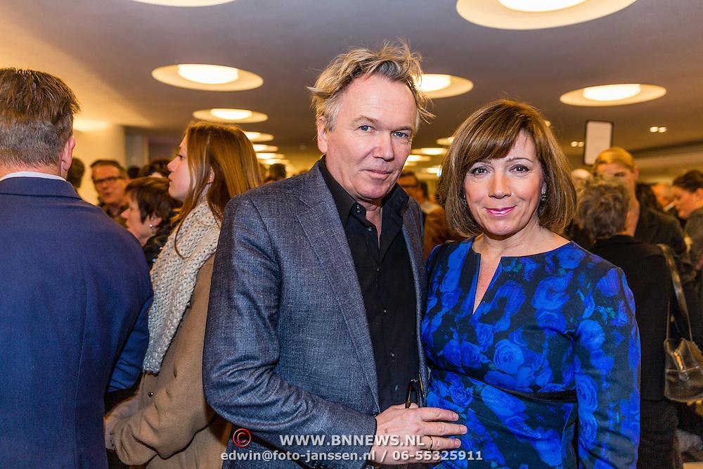 NLD/Utrecht20170213 - Première van Adèle Conny Jasperina – De Grote Drie       21420, Tom Egbers en partner Janke Dekker