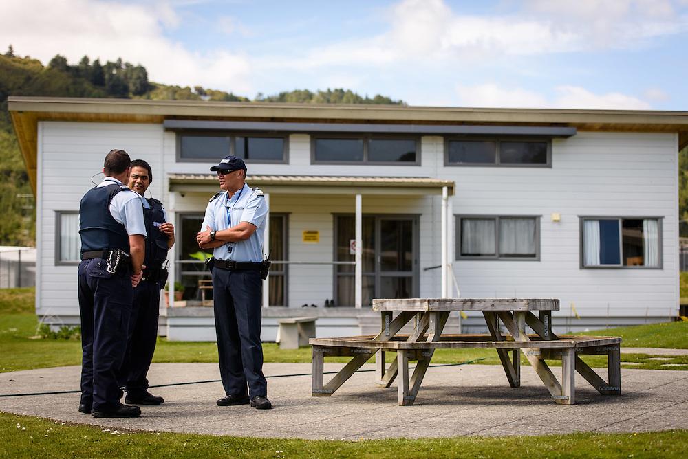 WELLINGTON, NEW ZEALAND - November 17: Corrections NZ: Frontline Features November 17, 2015 in Wellington, New Zealand. (Photo by Mark Tantrum/ http://mark tantrum.com)
