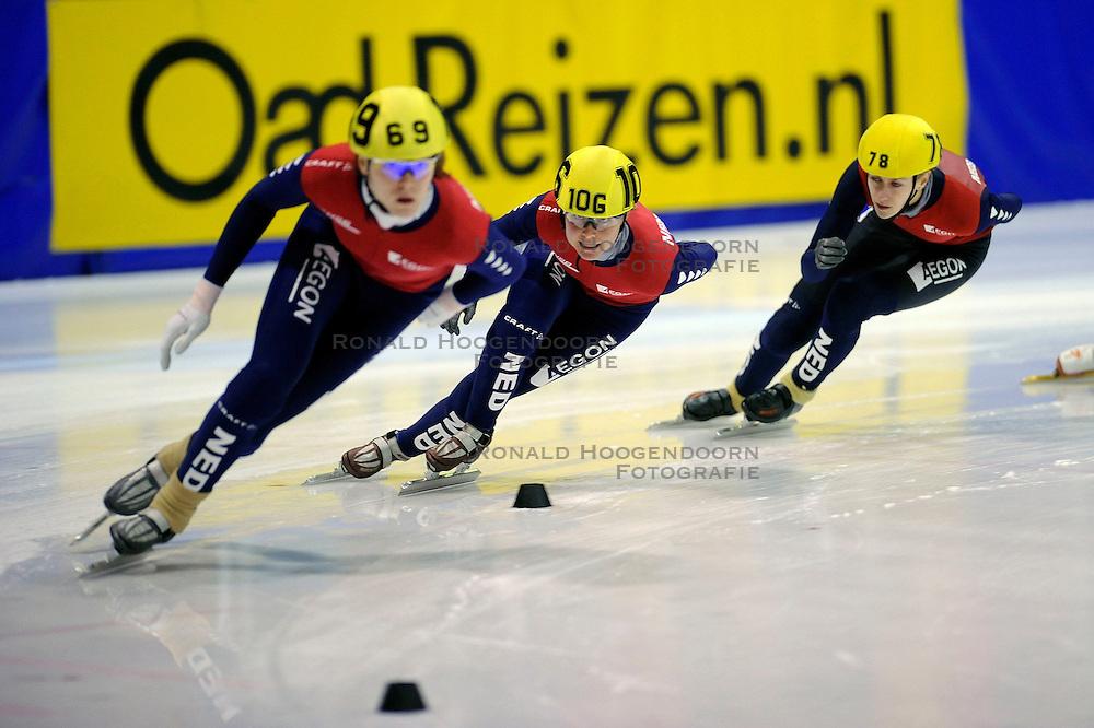 22-03-2009 SHORTTRACK: NK SHORTTRACK: ZOETERMEER<br /> Jorien ter Mors 69, Annita van Doorn 78 en Sanne van Kerkhof 106<br /> &copy;2009-WWW.FOTOHOOGENDOORN.NL