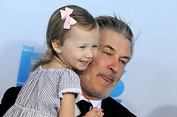 Alec Baldwin and Carmen Baldwin attending The Boss Baby premiere at AMC Loews Lincoln Square 13 theater on March 20, 2017 in New York City, NY, USA. Photo by Dennis Van Tine/ABACAPRESS.COM