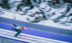 16.02.2020, Kulm, Bad Mitterndorf, AUT, FIS Ski Flug Weltcup, Kulm, Herren, im Bild Cestmir Kozisek (CZE) // Cestmir Kozisek of Czech Republic during the men's FIS Ski Flying World Cup at the Kulm in Bad Mitterndorf, Austria on 2020/02/16. EXPA Pictures © 2020, PhotoCredit: EXPA/ Dominik Angerer