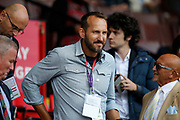 Mark Schwarzer was in attendance for the Premier League match between Sheffield United and Crystal Palace at Bramall Lane, Sheffield, England on 18 August 2019.