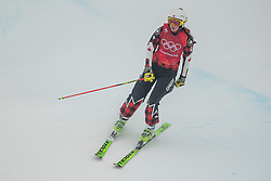 February 23, 2018 - Pyeongchang, SOUTH KOREA - 180223 Marielle Thompson of Canada looks dejected in the Women's Freestyle Ski Cross 1/8 Final during day fourteen of the 2018 Winter Olympics on February 23, 2018 in Pyeongchang..Photo: Carl Sandin / BILDBYRÃ…N / kod CS / 57999_318 (Credit Image: © Carl Sandin/Bildbyran via ZUMA Press)