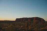 Uluru and Kata Tjuta sunset on Christmas day
