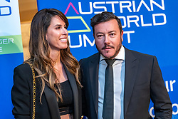 23.01.2020, Country Club, Reith, AUT, FIS Weltcup Ski Alpin, Charity Dinner und Auktion, im Bild Nathalie Benko und Rene Benko // Nathalie Benko and Rene Benko during a charity dinner and auction as a part of the FIS Ski Alpine World Cup at the Country Club in Reith, Austria on 2020/01/23. EXPA Pictures © 2020, PhotoCredit: EXPA/ Johann Groder