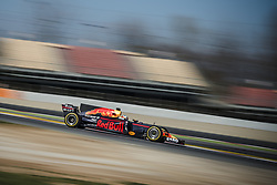 March 7, 2017 - DANIEL RICCIARDO (AUS) drives on the track during day 5 of Formula One testing at Circuit de Catalunya (Credit Image: © Matthias Oesterle via ZUMA Wire)