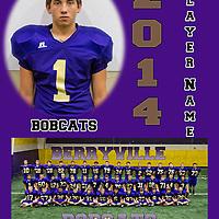 2014 Jr. High Berryville Bobcats Football