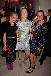 Left to right, India Debenham, Rosabel Crean and Saskia Debenham at the Tatler's English Roses 2017 party in association with Michael Kors held at the Saatchi Gallery, London England. 29 June 2017.<br /> Photo by Dominic O'Neill/SilverHub 0203 174 1069 sales@silverhubmedia.com
