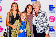 DEN Haag - Eloise van Oranje-Nassau van Amsberg bij dansevenement Free to Move in het Zuiderstrandtheater in Den Haag.  de kinderen en de moedr van prinses laurentien Eloise en Leonore ROBIN UTRECHT<br /> The Hague - the children and the mother of princess laurentien Eloise and Leonore ROBIN UTRECHT