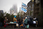 January 17, 2016: Carolina Panthers vs Seattle Seahawks. Carolina Panthers fans tailgate before the game