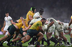 Forwards in action at a maul - Mandatory byline: Patrick Khachfe/JMP - 07966 386802 - 18/11/2017 - RUGBY UNION - Twickenham Stadium - London, England - England v Australia - Old Mutual Wealth Series International