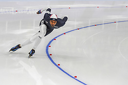 February 23, 2018 - Pyeongchang, Gangwon, South Korea - Shani Davis of  United States  at 1000 meter speedskating at winter olympics, Gangneung South Korea on February 23, 2018. (Credit Image: © Ulrik Pedersen/NurPhoto via ZUMA Press)
