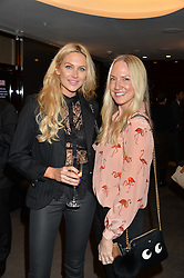 Left to right, STEPHANIE PRATT and ROSIE NIXON at a screening of Paramount Pictures 'Allied' hosted by Rosie Nixon of Hello! Magazine at The Bulgari Hotel, 171 Knightsbridge, London on 23rd November 2016.