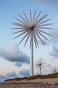 The Windmill Rose, put together by 8 synchronized exposures. Captured in Denmark, Hanstholm | Vindmøllerose, sett sammen av 8 synkroniserte eksponeringer. Tatt i Danmark, Hanstholm.