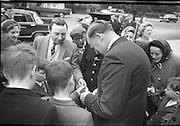 The new U.S. Embassy in Ballsbridge was officially opened by Congressman Wayne L. Hays of Ohio.  .23.05.1964