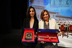 FRANCESCA MANNOCCHI E LUCIA ANNUNZIATA<br /> PREMIO ESTENSE 2019