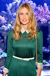 DONNA AIR at a dinner hosted by Creme de la Mer to celebrate the launch of Genaissance de la Mer The Serum Essence held at Sexy Fish, Berkeley Square, London on 21st January 2016.
