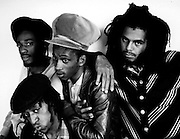 Aswad photosession at Island Records 1983