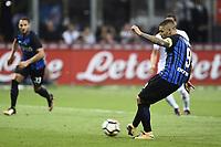 Mauro Icardi Inter Gol Goal <br /> Milano 20-08-2017 Stadio Giuseppe Meazza <br /> Calcio Serie A Inter - Fiorentina Foto Image Sport / Insidefoto