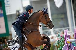 De Luca Lorenzo, ITA, Ensor de Litrange Lxii<br /> Rolex Grand Prix CSI 5* - Knokke 2017<br /> © Hippo Foto - Dirk Caremans<br /> 09/07/17