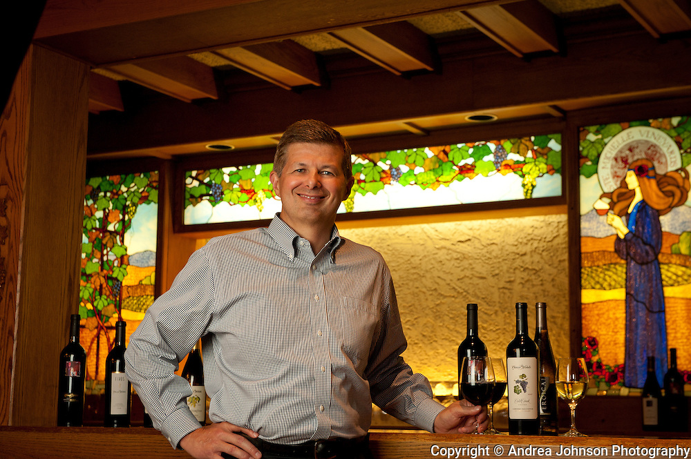 Ted Baseler, CEO Chateau Ste. Michelle, Woodinville, Washington